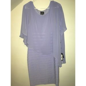 Adrianna Papell Lilac Dress